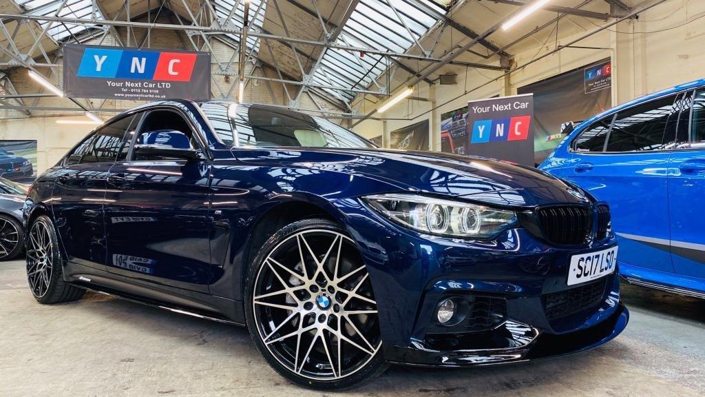 USED 2017 17 BMW 4 SERIES 3.0 435d M Sport Gran Coupe Sport Auto xDrive (s/s) 5dr PERFORMANCEKIT+DIGITALDASH+WOW