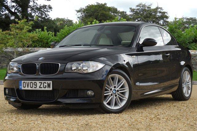 2009 09 BMW 1 SERIES 2.0 120D M SPORT 2d 175 BHP