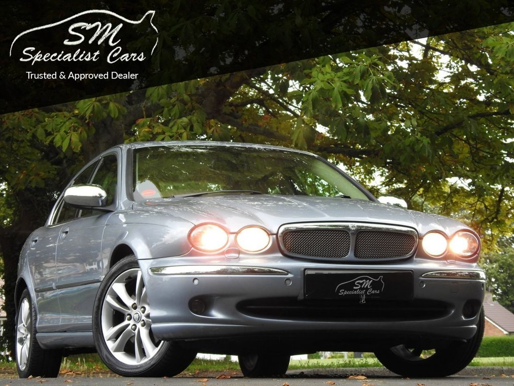 USED 2007 57 JAGUAR X-TYPE 2.2 SOVEREIGN 4d 152 BHP ONLY 78K FROM NEW A/C VGC