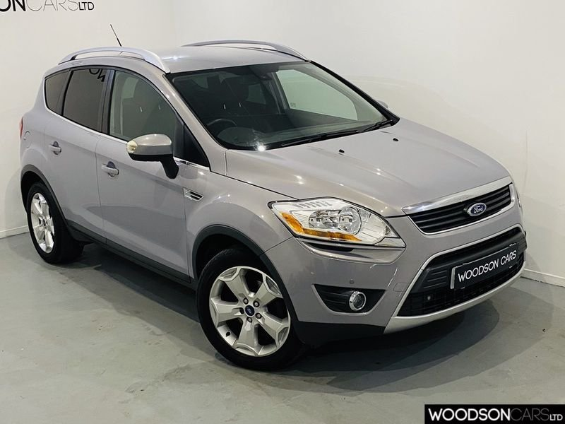 USED 2011 61 FORD KUGA 2.0 TITANIUM TDCI AWD 5d 163 BHP Bluetooth / Isofix / 1 Previous Owner / Full Service History / Tow bar