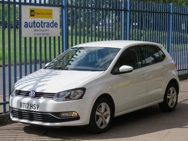 USED 2017 17 VOLKSWAGEN POLO 1.2 MATCH EDITION TSI 5d 89 BHP front and rear sensors, cruise dab bluetooth 1 OWNER, VW HISTORY, BLUETOOTH, CRUISE, FRONT AND REAR PARK ASSIST, DAB RADIO