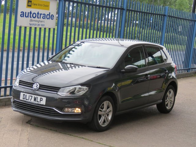 USED 2017 17 VOLKSWAGEN POLO 1.0 MATCH EDITION 5dr Cruise DAB Front & rear park Privacy Alloys Finance arranged Part exchange available Open 7 days ULEZ Compliant
