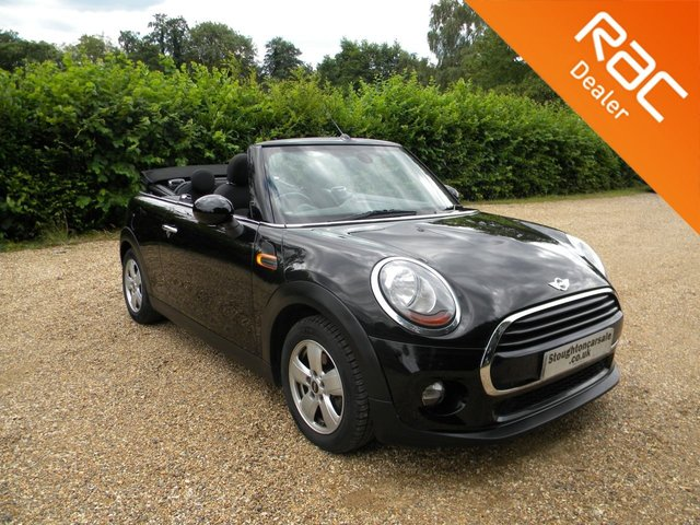 USED 2016 66 MINI CONVERTIBLE 1.5 COOPER 2d 134 BHP BY APPOINTMENT ONLY - Stylish Convertible! Automatic Petrol, Cheap To Tax, Alloy Wheels, Aux Input