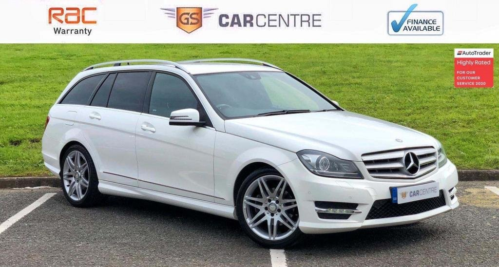 USED 2013 13 MERCEDES-BENZ C-CLASS 2.1 C250 CDI AMG Sport Plus 7G-Tronic Plus 5dr Leather + Heated Seats + DAB