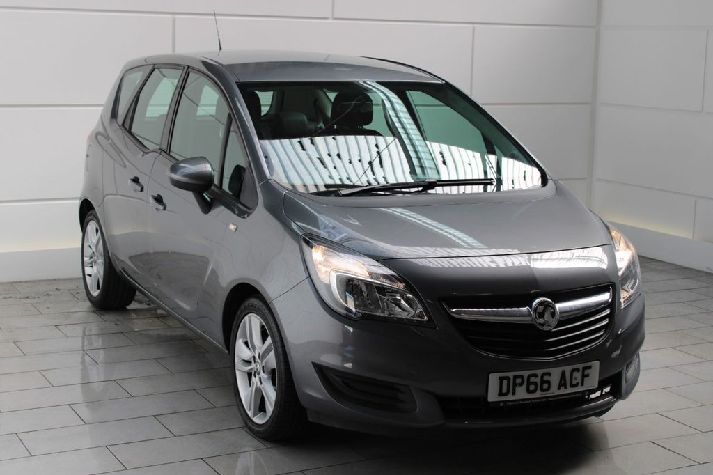 USED 2016 59 VAUXHALL MERIVA 1.4 i 16v Turbo Club