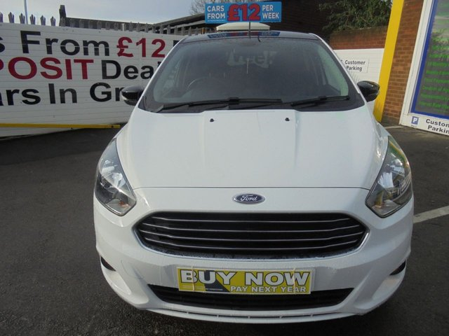 USED 2017 17 FORD KA+ 1.2 ZETEC WHITE EDITION 5d 84 BHP ** 1 OWNER FROM NEW **