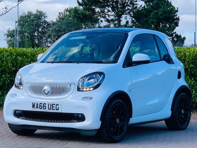 USED 2016 04 SMART FORTWO 1.0 EDITION WHITE 2d 71 BHP