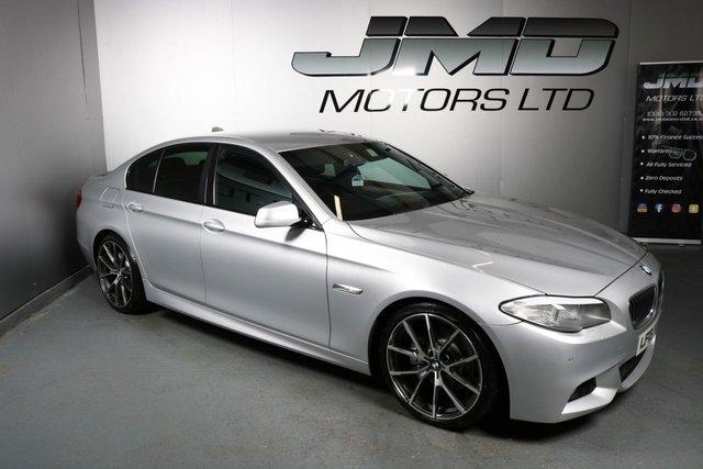USED 2013 13 BMW 5 SERIES 2013 BMW 520D M SPORT AUTO 181 BHP (FINANCE AND WARRANTY)