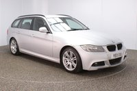 USED 2011 11 BMW 3 SERIES 2.0 320D M SPORT TOURING 5DR 181 BHP FULL SERVICE HISTORY + DAKOTA LEATHER SEATS + PARKING SENSOR + BLUETOOTH + CRUISE CONTROL + CLIMATE CONTROL + MULTI FUNCTION WHEEL + RADIO/CD/AUX + ELECTRIC WINDOWS + ELECTRIC/HEATED DOOR MIRRORS + 17 INCH ALLOY WHEELS