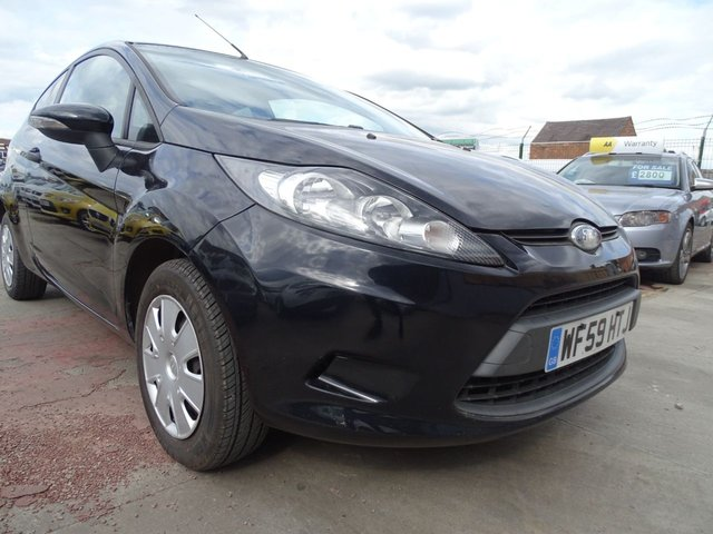 USED 2009 59 FORD FIESTA 1.2 STUDIO 3d LOW TAX AND INSURANCE