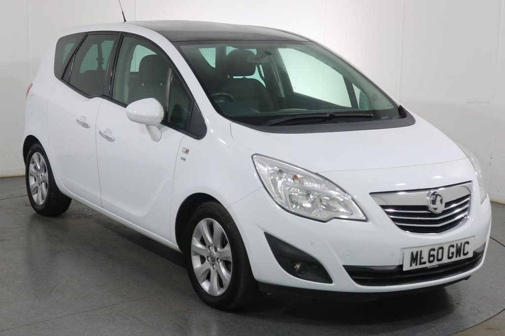 USED 2010 60 VAUXHALL MERIVA 1.4 SE 5d 98 BHP 3 OWNERS with 8 Stamp SERVICE HISTORY