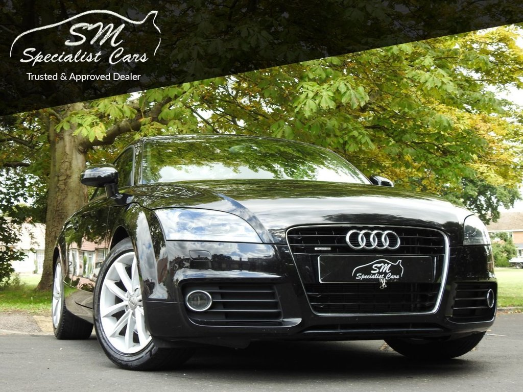 USED 2012 62 AUDI TT 2.0 TFSI QUATTRO SPORT 2d 208 BHP ONLY 46K FROM NEW LEATHER VGC