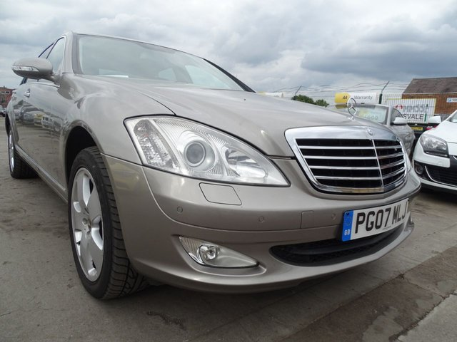 USED 2007 07 MERCEDES-BENZ S-CLASS 3.0 S320 L CDI 4d REAR RECLINER AND HEATED SEATS RARE