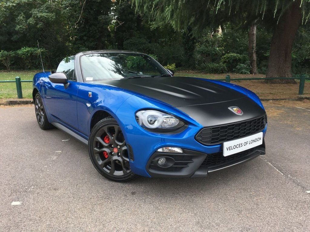 USED 2018 18 ABARTH 124 1.4 SPIDER MULTIAIR 2d 168 BHP £1815 of FACTORY EXTRAS