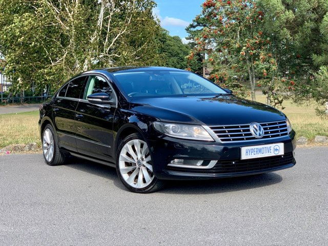 USED 2014 14 VOLKSWAGEN CC 2.0 GT TDI BLUEMOTION TECHNOLOGY 4d Sat Nav | Leather | DAB Radio