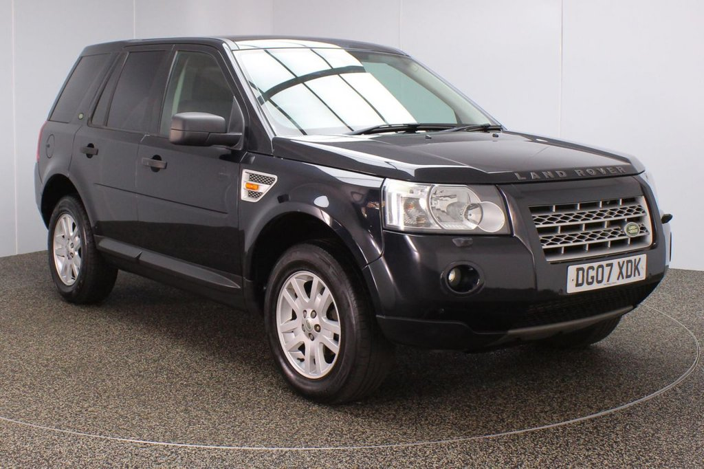 USED 2007 07 LAND ROVER FREELANDER 2.2 TD4 SE 5DR 159 BHP FULL SERVICE HISTORY + HEATED HALF LEATHER SEATS + SATELLITE NAVIGATION + DOUBLE SUNROOF + PARKING SENSOR + BLUETOOTH + CRUISE CONTROL + CLIMATE CONTROL + MULTI FUNCTION WHEEL + ALPINE PREMIUM SPEAKERS + PRIVACY GLASS + ELECTRIC FRONT SEATS + RADIO/CD/DVD + AUXILIARY PORT + ELECTRIC WINDOWS + ELECTRIC/HEATED/FOLDING DOOR MIRRORS + 17 INCH ALLOY WHEELS
