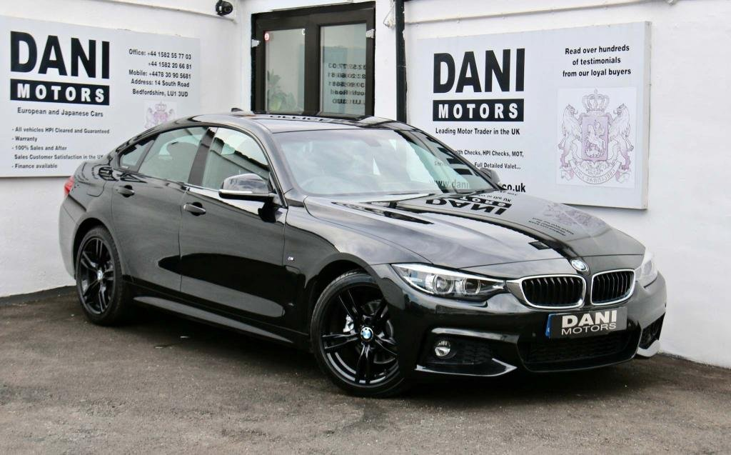 USED 2017 17 BMW 4 SERIES 2.0 420i M Sport Gran Coupe (s/s) 5dr SATNAV*PARKING AID*XENONS*
