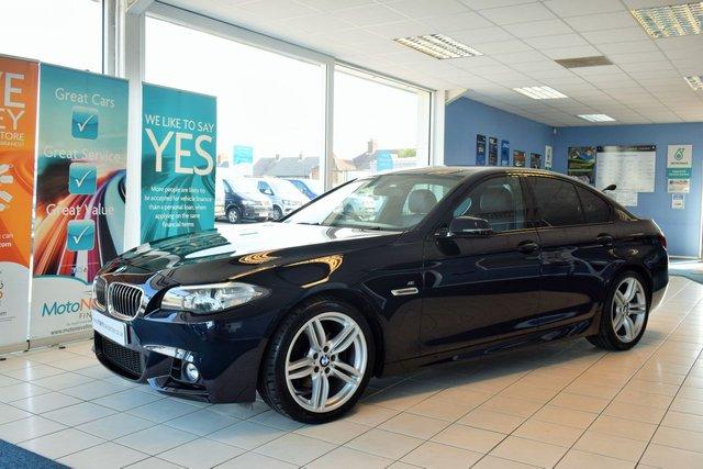 2014 M BMW 5 SERIES 2.0 520D M SPORT 4d 181 BHP