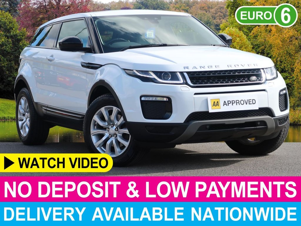 USED 2016 16 LAND ROVER RANGE ROVER EVOQUE 2.0 TD4 SE TECH AUTO COUPE 4WD 3DR  COUPE MODEL SATNAV LEATHER 4WD