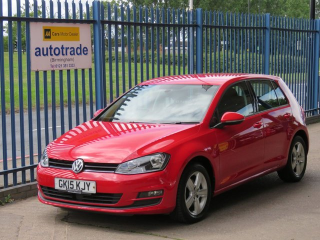 USED 2015 15 VOLKSWAGEN GOLF 1.4 MATCH TSI BLUEMOTION TECHNOLOGY 5dr 120 DAB Cruise Privacy Bluetooth & audio Alloys Finance arranged Part exchange available Open 7 days ULEX Compliant