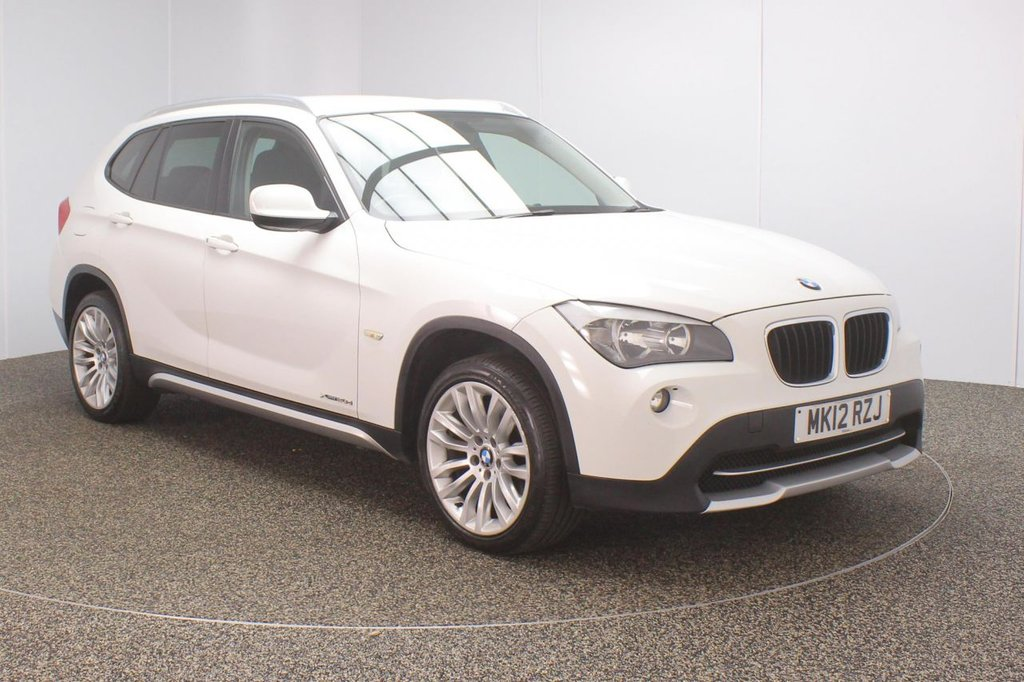 USED 2012 12 BMW X1 2.0 XDRIVE20D SE 5DR 174 BHP FULL SERVICE HISTORY + PARKING SENSOR + CLIMATE CONTROL + MULTI FUNCTION WHEEL + RADIO/CD/AUX + ELECTRIC WINDOWS + ELECTRIC/HEATED DOOR MIRRORS + 18 INCH ALLOY WHEELS