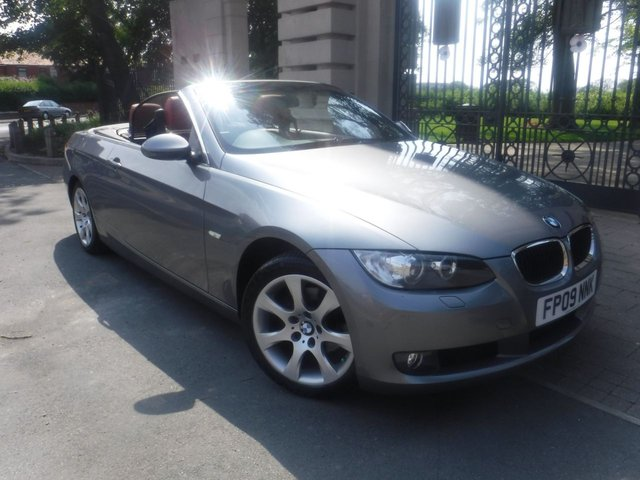 USED 2009 09 BMW 3 SERIES 2.0 320I SE 2d 168 BHP RED LEATHER*ELECTRIC ROOF*A/C*SERVICE HISTORY WITH 7 STAMPS