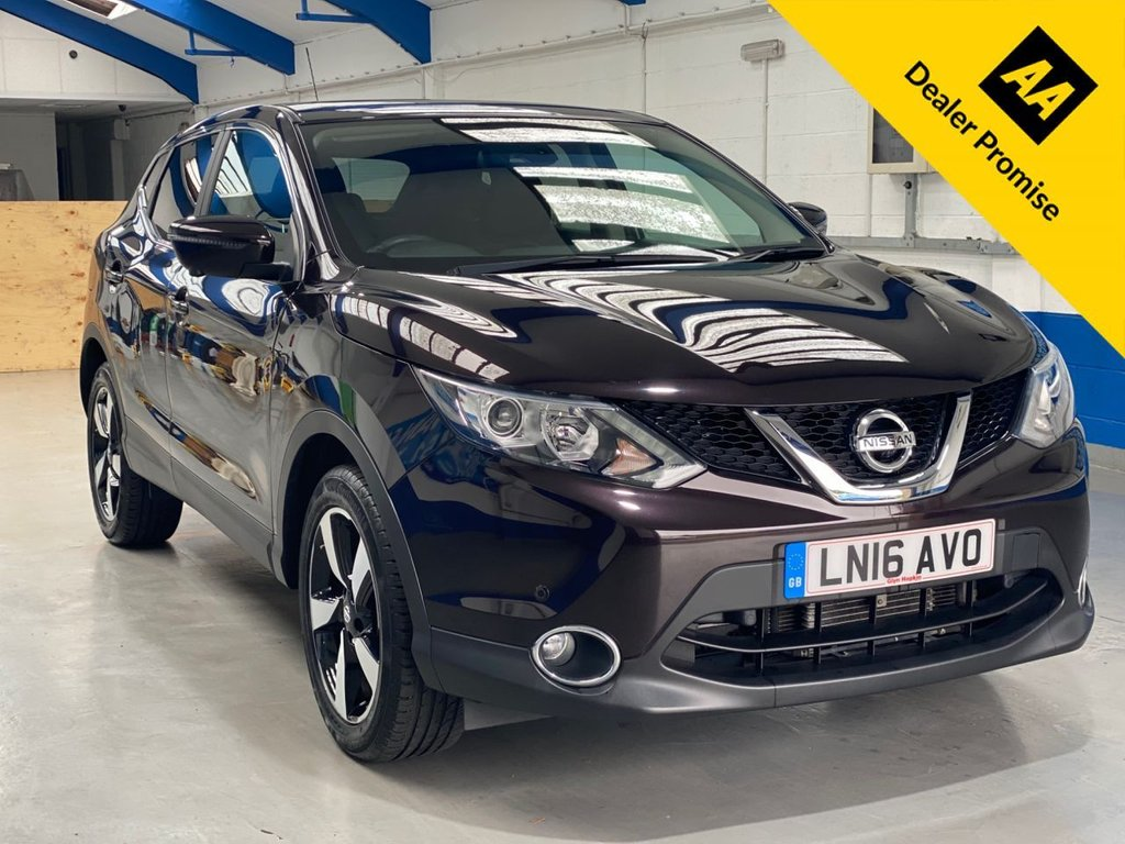 USED 2016 16 NISSAN QASHQAI 1.2 N-CONNECTA DIG-T XTRONIC 5d 113 BHP *FULL DEALER HISTORY**1 OWNER**AUTOMATIC*
