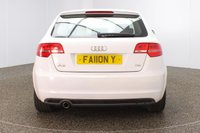 USED 2011 11 AUDI A3 1.6 TDI S LINE 5DR 103 BHP FULL SERVICE HISTORY + £20 12 MONTHS ROAD TAX + HALF LEATHER SEATS + CLIMATE CONTROL + MULTI FUNCTION WHEEL + RADIO/CD/AUX + ELECTRIC WINDOWS + ELECTRIC/HEATED DOOR MIRRORS + 18 INCH ALLOY WHEELS