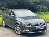 USED 2013 63 VOLKSWAGEN PASSAT 2.0 EXECUTIVE TDI BLUEMOTION TECHNOLOGY 4d 139 BHP FULL HEATED LEATHER INTERIOR