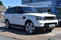 USED 2012 62 LAND ROVER RANGE ROVER SPORT 3.0 SDV6 HSE RED 5d 255 BHP COMES WITH 6 MONTHS WARRANTY
