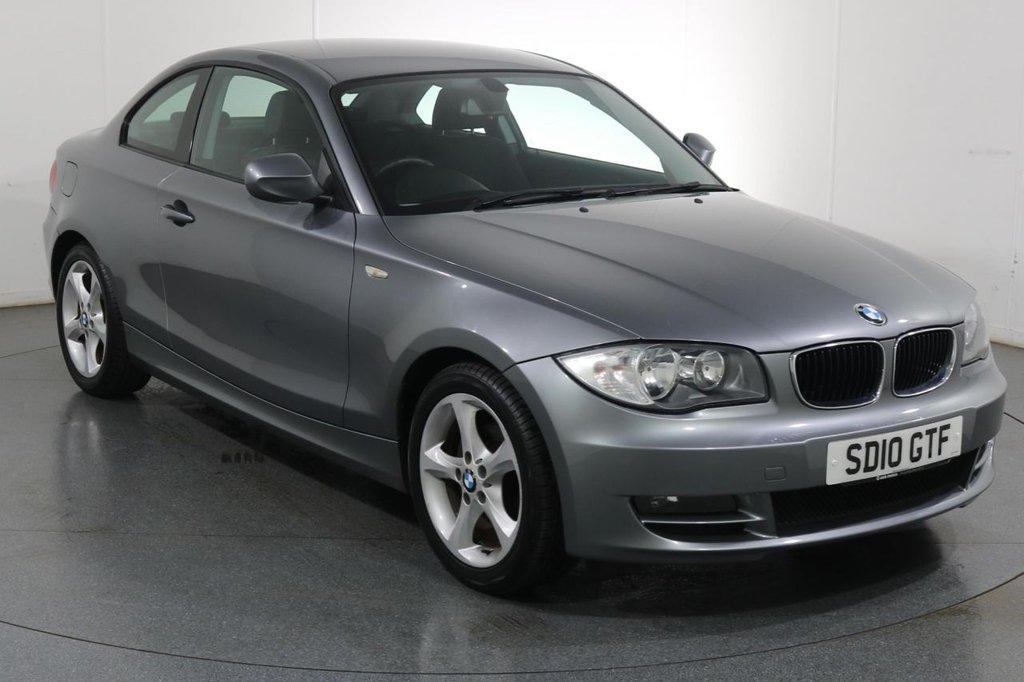 USED 2010 10 BMW 1 SERIES 2.0 118D SPORT 2d 141 BHP £30 ROAD TAX I PARKING SENSORS