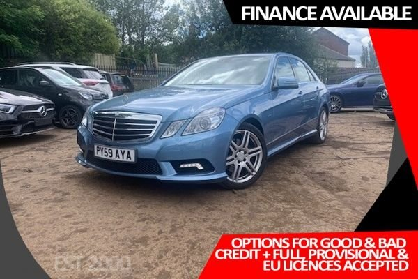 USED 2009 T MERCEDES-BENZ E-CLASS 2.1 E250 CDI BLUEEFFICIENCY SPORT 4d 204 BHP 2 OWNERS * SPEEDTRONIC CRUISE CONTROL * SPORTS SEATS * MIRROR PACKAGE * 5 SPEED AUTOMATIC WITH TIPFUNCTION