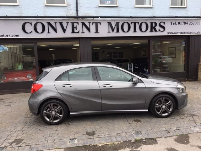 USED 2014 14 MERCEDES-BENZ A-CLASS 1.6 A200 BLUEEFFICIENCY SPORT 5d 156 BHP