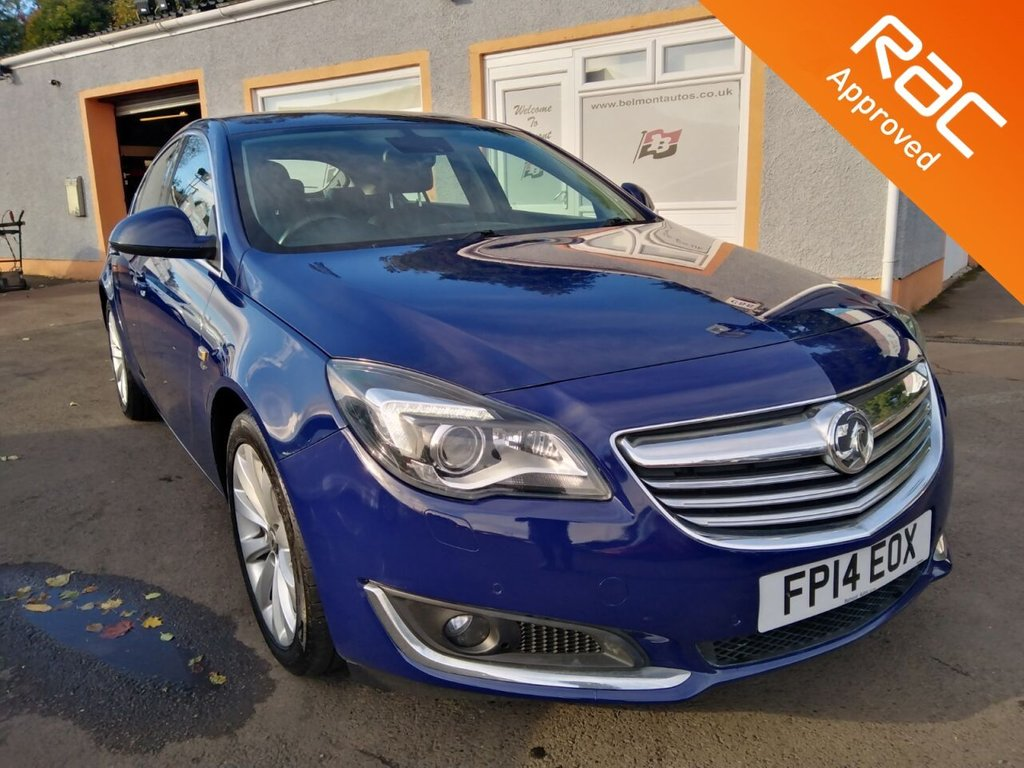 USED 2014 14 VAUXHALL INSIGNIA 2.0 ELITE NAV CDTI ECOFLEX S/S 5d 138 BHP Touchscreen Sat Nav, Leather, Heated Seats, Parking sensors front and rear, 3 Service stamps