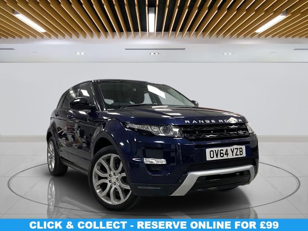 USED 2014 64 LAND ROVER RANGE ROVER EVOQUE 2.2 SD4 DYNAMIC 5d 190 BHP Panoramic Roof, Parking Sensor(s), Climate Control, 20-inch Alloy Wheels