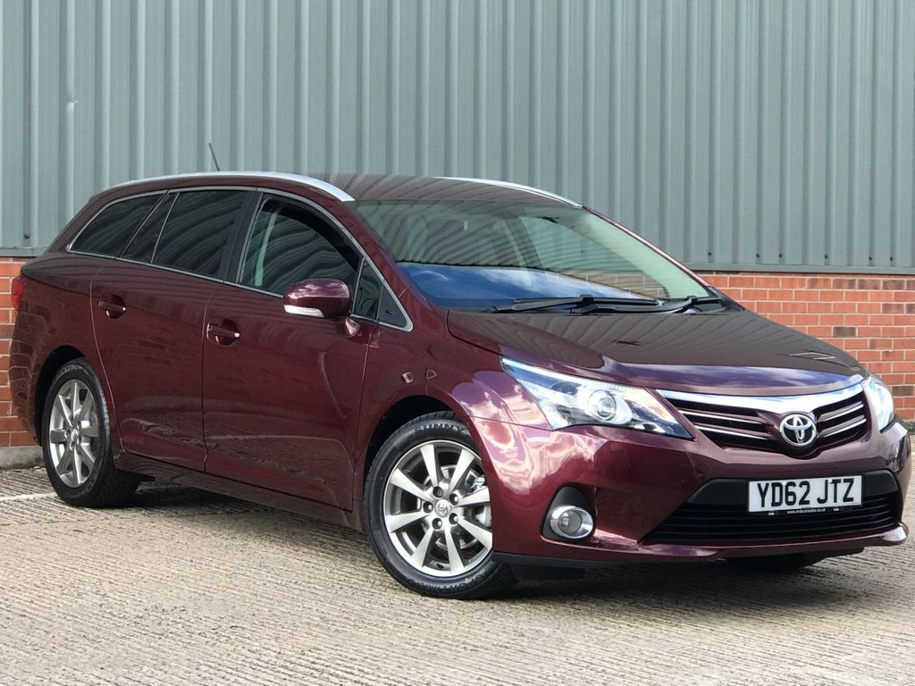 USED 2012 62 TOYOTA AVENSIS 2.0 T4 D-4D 5d 124 BHP EXCELLENT LOW MILEAGE EXAMPLE