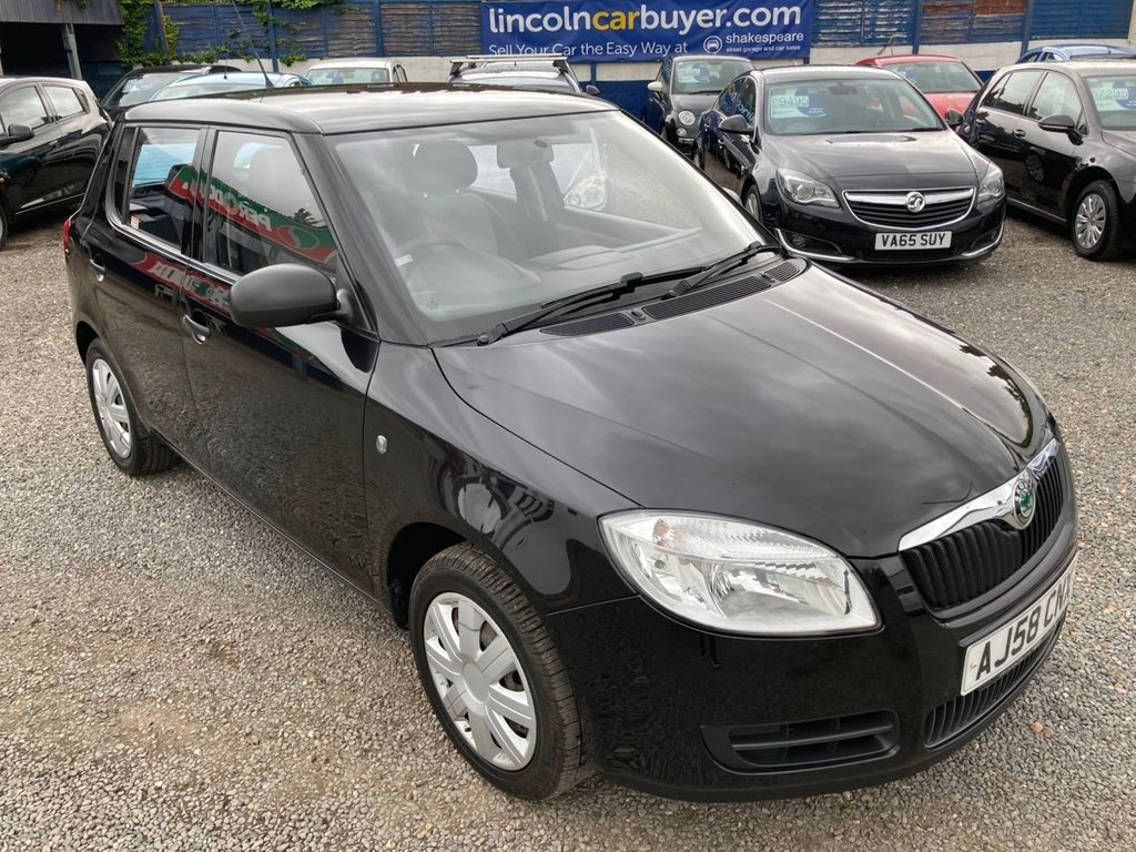 USED 2008 58 SKODA FABIA 1.4 LEVEL 1 TDI 5d 79 BHP