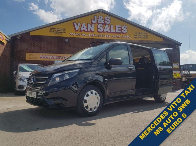 USED 2017 17 MERCEDES-BENZ VITO TAXI M8 114 BLUETEC  AUTO WHEEL CHAIR MINIBUS #### BIG STOCK OF MINIBUSES ALL MODELS #####