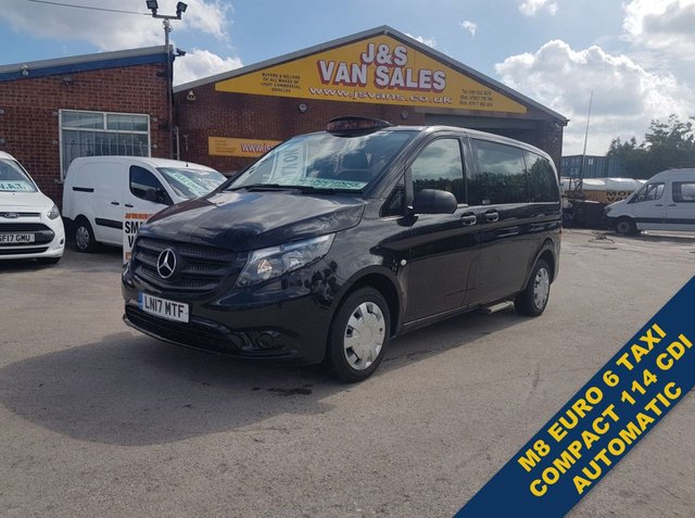 USED 2017 17 MERCEDES-BENZ VITO TAXI CAB M8 BLUETEC TOURER  MINIBUS AUTOMATIC #### BIG STOCK OF MINIBUSES ALL MODELS #####