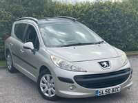 USED 2008 58 PEUGEOT 207 1.4 SW S 5d 94 BHP FULL PANORAMIC GLASS ROOF