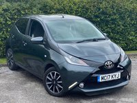 USED 2017 17 TOYOTA AYGO 1.0 VVT-I X-STYLE 5d 69 BHP MANUFACTURERS WARRANTY AUGUST 2022