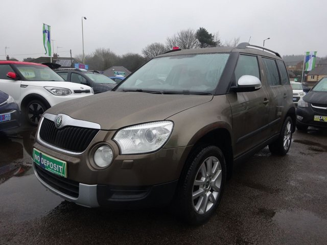 USED 2009 59 SKODA YETI 2.0 ELEGANCE TDI CR 5d 138 BHP **CLICK AND COLLECT ON YOUR NEXT CAR**