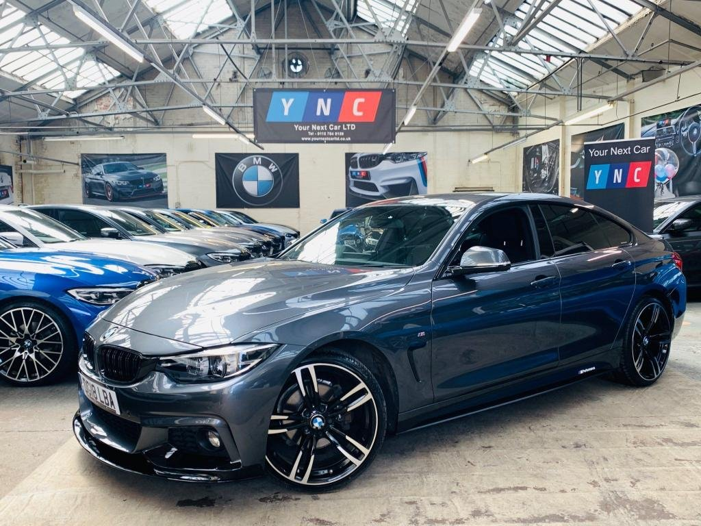 USED 2018 18 BMW 4 SERIES 2.0 420d M Sport Gran Coupe Auto (s/s) 5dr PERFORMANCEKIT+20S+FACELIFT