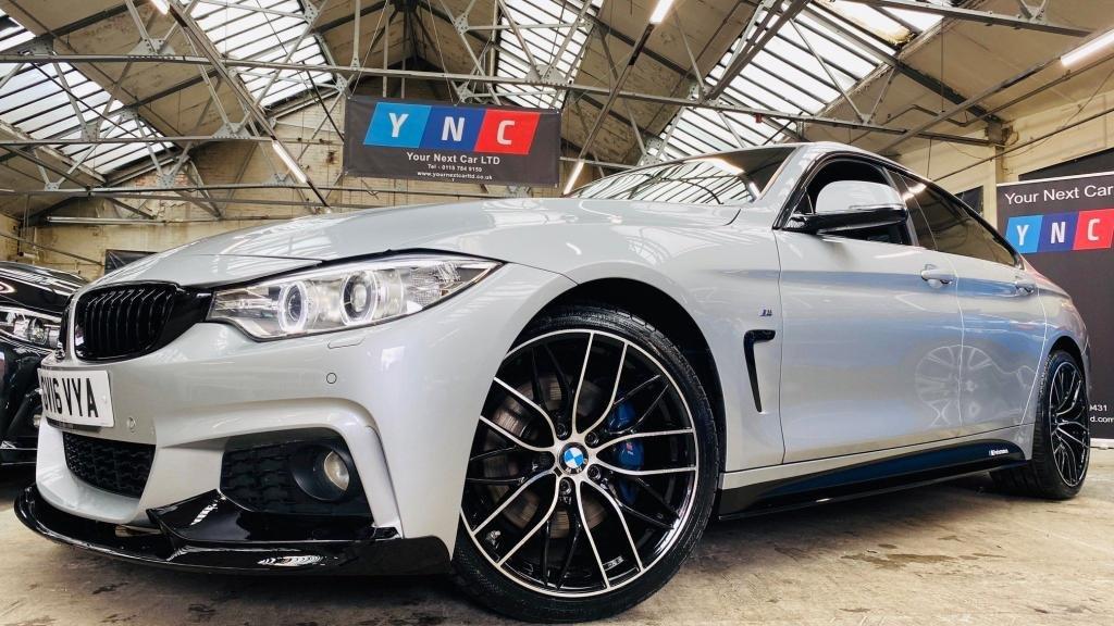 USED 2016 16 BMW 4 SERIES 2.0 420d M Sport Gran Coupe (s/s) 5dr PERFORMANCEKIT+REVCAM+PLUSPACK