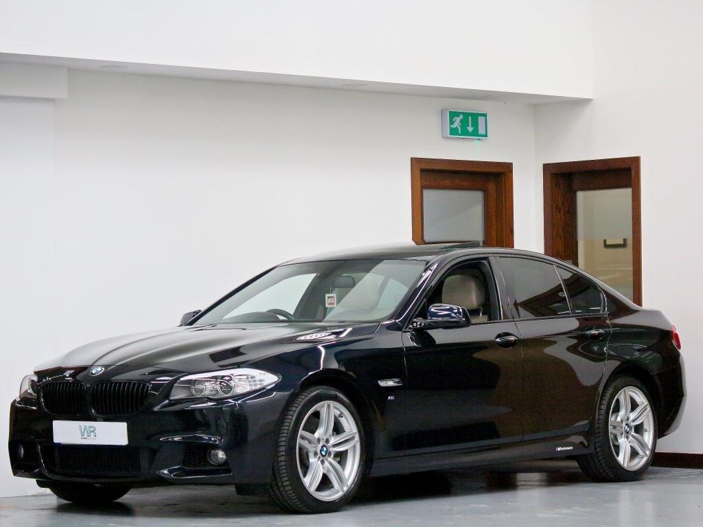 USED 2012 BMW 5 SERIES 3.0 535d M Sport 4dr SUNROOF + HUD + REV CAMERA