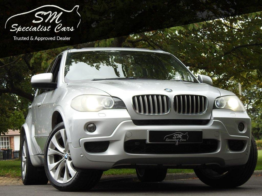 USED 2008 58 BMW X5 3.0 SD M SPORT 5d 282 BHP HUGE SPEC SAT NAV LEATHER A/C