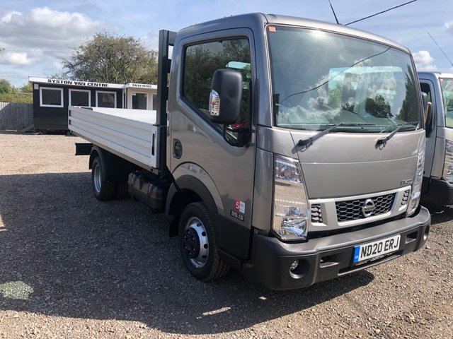 2020 20 NISSAN NT400 CABSTAR 3.0 dCi 35.13 L3 EU6 DROPSIDE Delivery milage 130 bhp