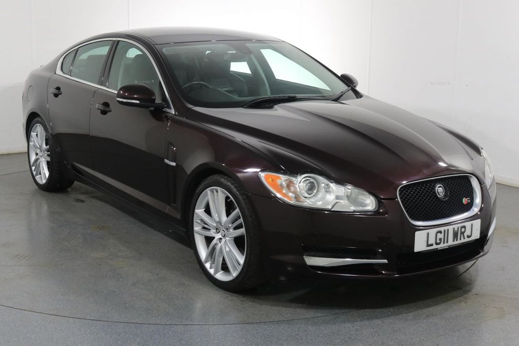 USED 2011 11 JAGUAR XF 3.0 V6 S PORTFOLIO 4d 275 BHP 2 OWNERS with 8 Stamp SERVICE HISTORY