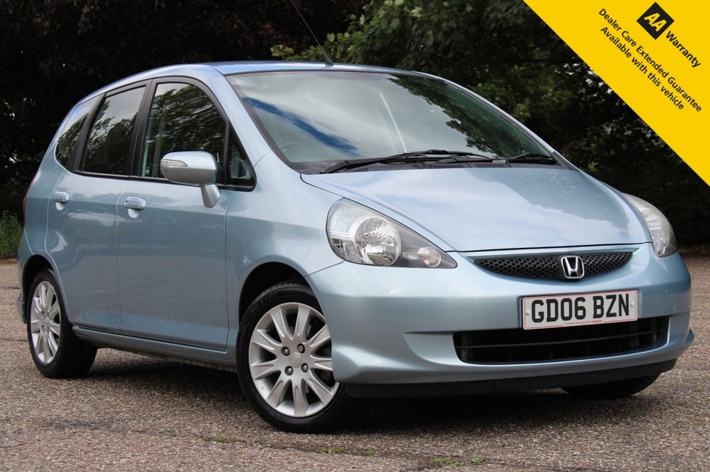 USED 2006 06 HONDA JAZZ 1.3 DSI SE 5d 82 BHP ** SUPERB FLAWLESS FULL SERVICE HISTORY - 13 STAMPS ** BRAND NEW MOT - EXPIRY AUGUST 2021 ** AIR CONDITIONING ** GREAT VALUE LOW MILEAGE HATCHBACK **