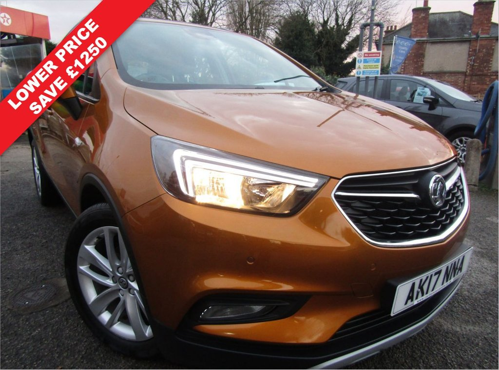 USED 2017 17 VAUXHALL MOKKA X 1.4 ACTIVE 5d 138 BHP AUTOMATIC ONE OWNER EX MOTABILITY,, FULL SERVICE HISTORY,,ONLY COVERED 17000 MILES,, POPULAR SUV, HIGHER DRIVING POSITION,, PETROL AUTOMATIC,, GREAT SPEC CAR ,FRONT AND REAR PARKING SENSORS,, CRUISE CONTROL ,DAB RADIO, BLUETOOTH AND MUCH MORE,,WARRANTY INCLUDED, PART EXCHANGE WELCOME,, FINANCE PACKAGES AVAILABLE,